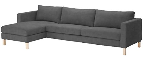 Sofa Cover Only! Durable Heavy Cotton Karlstad Three Seat So