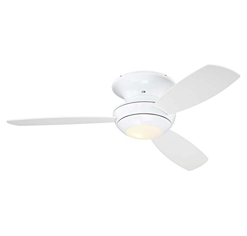 Trade Winds TW020330WH Outdoor 52' Ceiling Fan w/Light in White