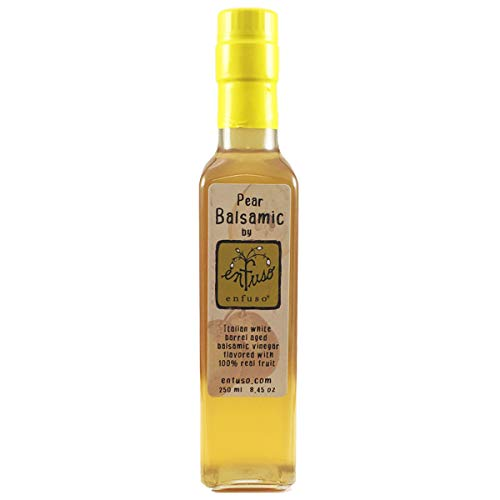 Barrel Aged White Balsamic Vinegar (Pear, -