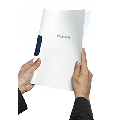 Durable Duraswing 228902 Job Application Folder for 30 Sheets A4 -White (Pack of 5) : Office Products