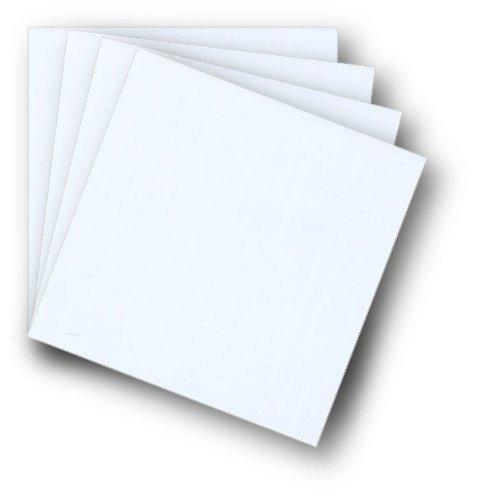 - Styrene Sheets - 12x12x.040 - 4 pack