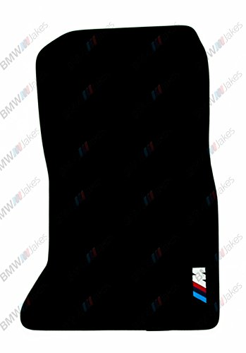 NEW CAR FLOOR MATS BLACK with ///M EMBLEM for BMW 5 series F10 2009, 2010, 2011, 2012, 2013, 2014, 2015, 2016 by VOPI MATS (Image #2)'
