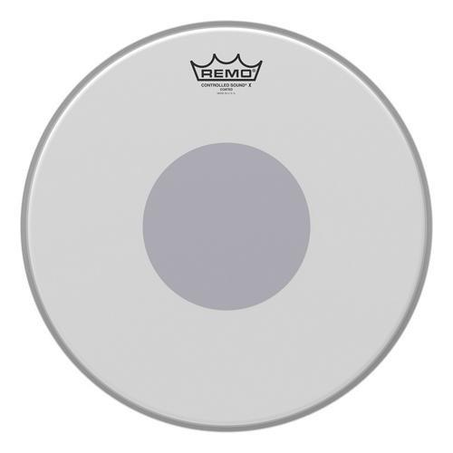 Remo CX011410 Controlled Sound X Drum Head, 14-Inch, Black Dot on Bottom