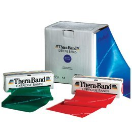 Thera-Band Extra Heavy, Blue, Unit: 100-Yard Dispenser Box, Resistance Level 4 - Model 716704