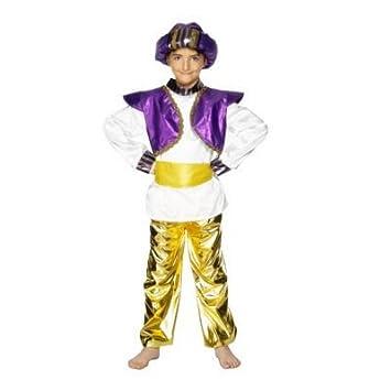 CHILD SULTAN BOY ALADDIN GENIE FANCY DRESS COSTUME - S  sc 1 st  Amazon UK & CHILD SULTAN BOY ALADDIN GENIE FANCY DRESS COSTUME - S: Amazon.co.uk ...