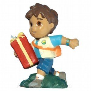 Go Diego Go Birthday Candle - Go Diego Go Birthday Party