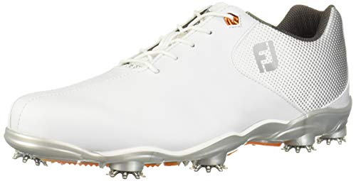 FootJoy Men's D.N.A. Helix-Previous Season Style Golf Shoes White 9 M Silver, US from FootJoy