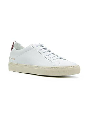 Progetti Comuni Uomini 2129536 Sneakers In Pelle Bianca