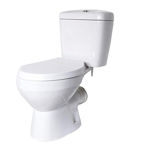 American Round Rear Outlet 2 Piece Toilet Kit