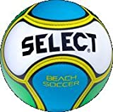 Select Beach Soccer Ball, Size 5, White/Blue/Green