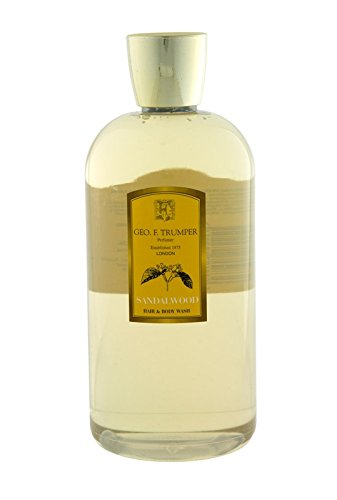 Geo F Trumper Sandalwood Hair & Body Wash 500ml / 17.5 Fl Oz Bottle by Geo F Trumper Sandalwood