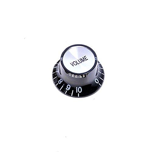Kmise A8183 9ピース 異なるプッシュオンギター スピードコントロールノブ 2トーン/1音量   B010W71R6Q