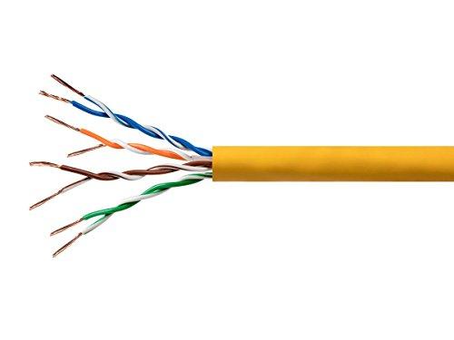 Monoprice Copper Ethernet Yellow 114770