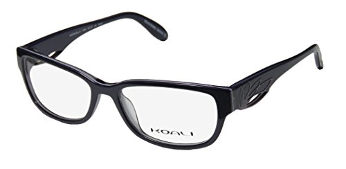 Koali 7199k Womens/Ladies Optical In Style Designer Full-rim Eyeglasses/Eyewear (53-15-135, Denim / Lavender) - Koali Eyewear