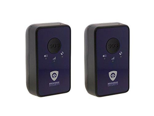 BrickHouse Security SN5 Spark Nano 5.0 Real Time Mini Portable GPS Tracker Fleet / Vehicle Tracking Device (2 Pack)
