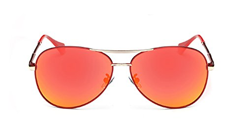 Starry Modern Fashion Design Polarization Resin Lens Sunglasses (red, - Ray Bans Melbourne