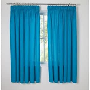 Niños 'Fiesta azul opaco cortinas–168x 137cm (111992577)