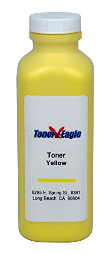 3800 Toner Kit - HP 3800 CP3505 CP-3505 Q7582A Yellow Toner Refill Kit with Chip. 170gr. 6k Pages. By Toner Eagle