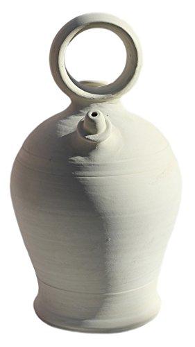 BOTIJO VALENCIANO ARTESANAL (35X19) 4,25 LITROS. Recipiente de barro cocido y poroso diseñado para beber y conservar el agua fresca. ENVIOS SOLO ...