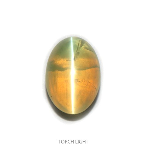 DVG 2.34 Carats Chrysoberyl Cat's Eye 100% Natural Sri Lanka Gem