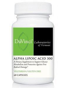 DaVinci Laboratories Alpha Lipoic Acid 300 300 mg 60 Veg Caps by Unknown