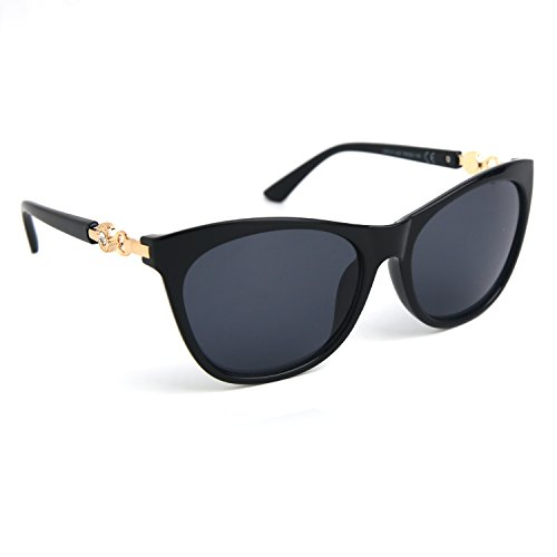 JOOX Large Square Horn Rimmed Sunglasses Transparent Colored Lens for women - Glasses Eye Frams