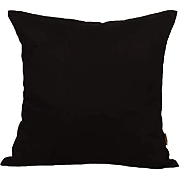 Amazon.com: Juego de 4 fundas de almohada cuadradas de ...