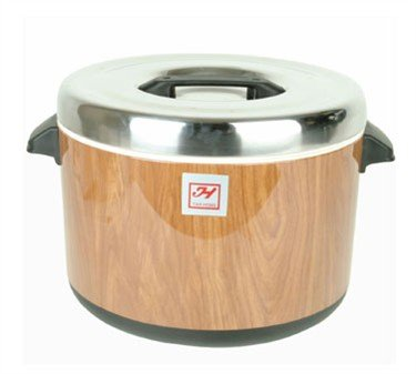 Thunder Group SEJ71000 40-Cup Wood Grain Insulated Sushi Pot