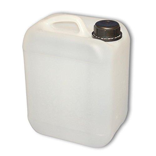 Camping-Wasserkanister Kunststoff Naturweiss Lebensmittelecht 5 Liter Kanister