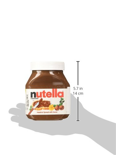 galleon nutella ferrero 2 jars 26 5 ounce hazelnut spread by nutella. Black Bedroom Furniture Sets. Home Design Ideas