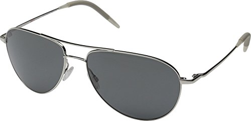 Oliver Peoples Unisex Benedict 59 Silver/Graphite Polarized Vfx+ - Peoples Oliver Shades