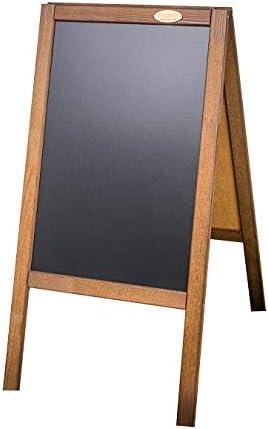Aufsteller Kreidetafel Kundenstopper Holzaufsteller beidseitig Holz farbig DHL