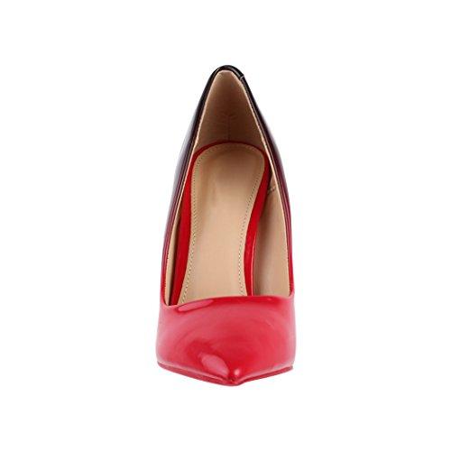 Elara Punta Heels Di Comodo Elegante Lyon Stilettos Tacco High Rot rrdH0q