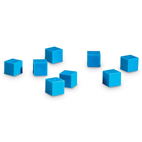Learning Resources Plastic Base Ten Units (Cubes Value Place)