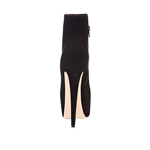 Stiefelette Stiefel Onlymaker High Stiletto Kurzschaft Plateau mit Damen Pumps Heels PPwtHq0
