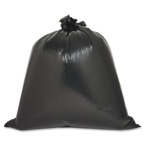 0.6 milPly Low Density Puncture Resistant Liner Black plastic Trash Bags 16 Gallon (Case of 100) 31