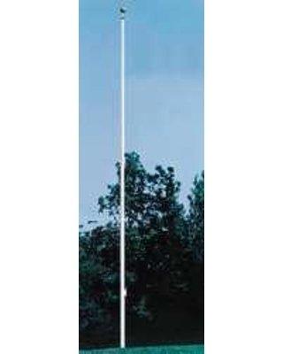 Annin Flagmakers 743255 25 ft. Aluminum External Single Stat. Truck Pole