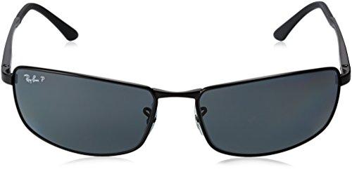Ray ban Matte Rb3498 Sunglasses Black wCq1w8