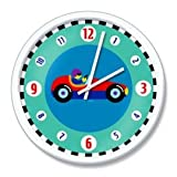 "Olive Kids VROOM 12"" Clock"