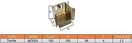 Toranschlag HMX04A Auflaufschuh /& Toranschlag in 6 Ausf/ührungen zur Auswahl