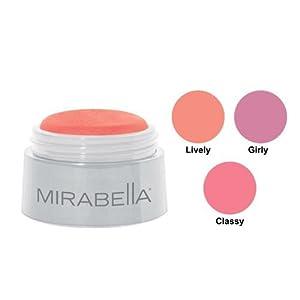 Mirabella Cheeky Blush Radiance Powder - Lively, 3g/0.11oz