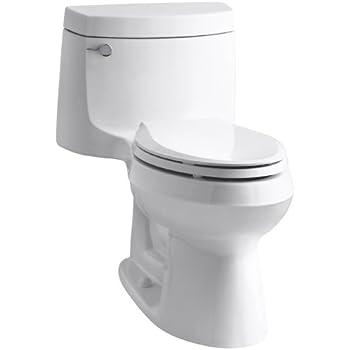 Kohler K-3828-0 Cimarron Comfort Height Elongated Toilet