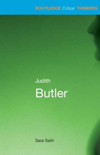 Judith Butler (Routledge Critical Thinkers) by imusti