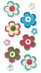 EK Success Jolee's Boutique Le Grande Dimensional Stickers-Felt Spring - Jolees Boutique Felt Ek