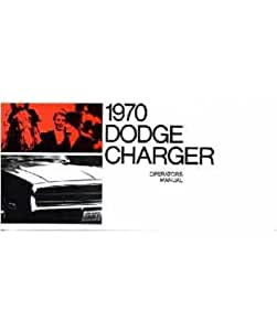 Dodge charger manual book