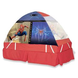 Spider-Man 2 Hide Nu0027 Sleep Bed Dome Tent  sc 1 st  Amazon.com & Amazon.com: Spider-Man 2: Hide Nu0027 Sleep Bed Dome Tent: Toys u0026 Games
