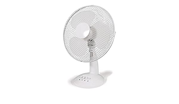 HJM FT-40 Blanco - Ventilador (Blanco, Mesa, 45 W, 40 cm): Amazon ...