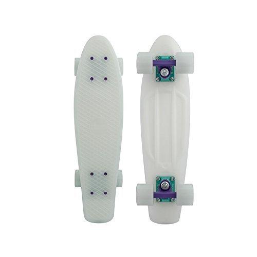Penny Classics Complete Skateboard, Galactic Glow Purple, 22'' L by Penny Australia