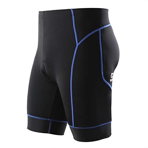Veobike Men's/Women's Cycling Shorts MTB Riding Pants 3D Pad Breathable Quick Dry Bike Shorts