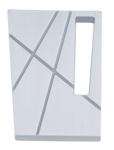 Atlas Homewares 252L-BRN 1-3/4-Inch The Moderns Collection Modernist Knob - Left, Brushed (Modernist Modernist Collection)